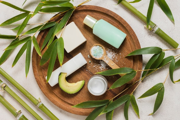 Spa still life with natural elements Free Photo