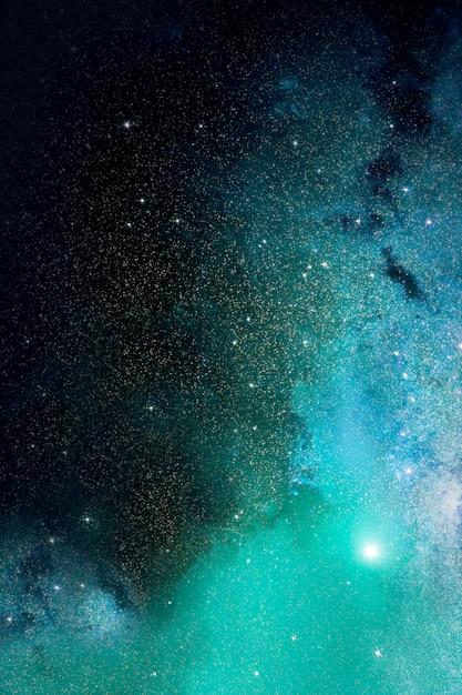 우주와 은하 배경 무료 사진