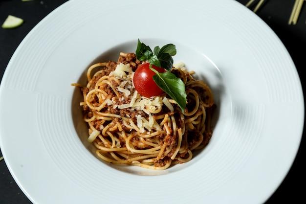 スパゲティボロネーゼ 無料写真