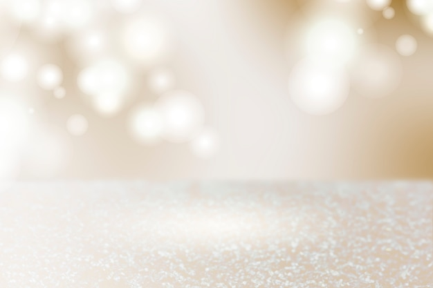 Sparkling lights product background Free Photo