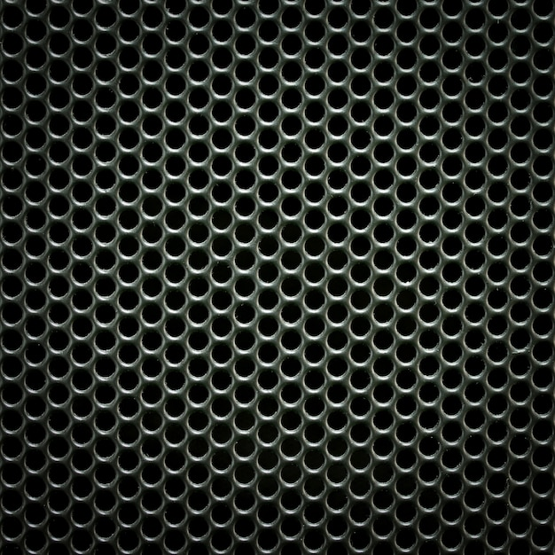Speaker grill texture for background Free Photo