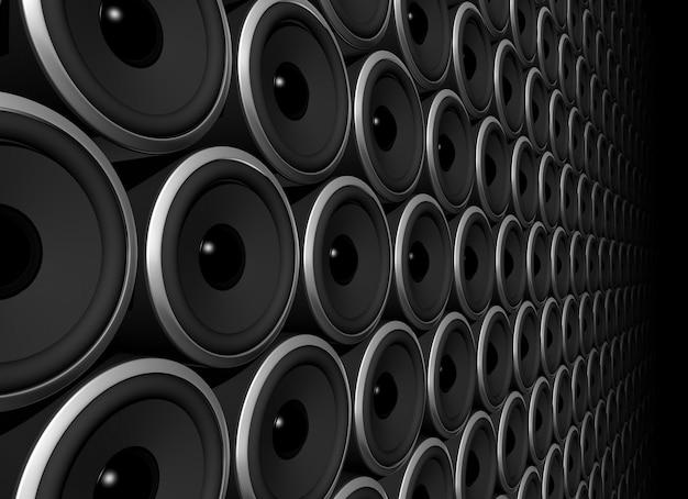 Speakers sphere Premium Photo