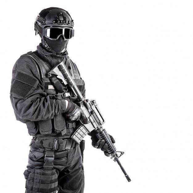 Spec ops полицейский swat Premium Фотографии