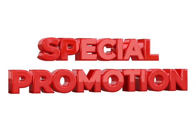 Special promotion banner template design, special promotion Premium Photo
