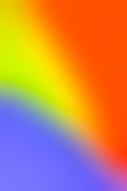 Spectrum of bright blurry colors Free Photo