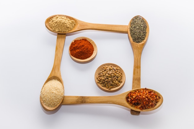 Spices for cooking Premium Photo
