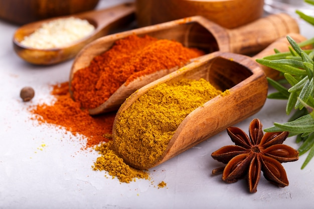 Spices and herbs Premium Photo