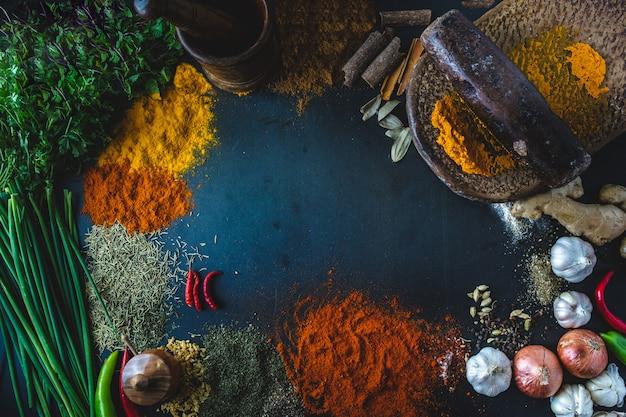 Spices Premium Photo
