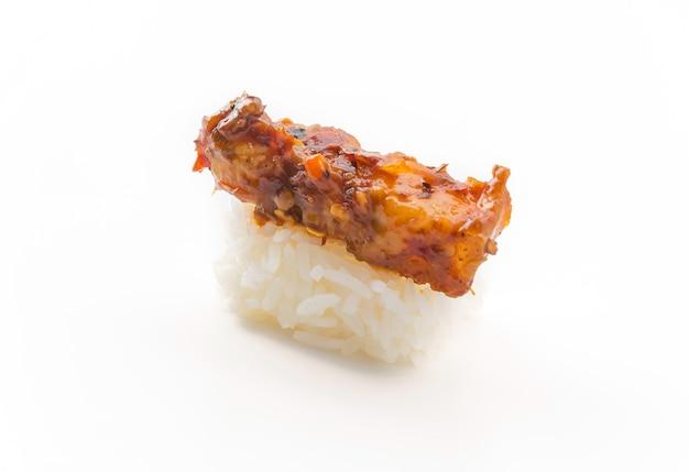 Spicy Streaky Pork Sushi Photo Free Download