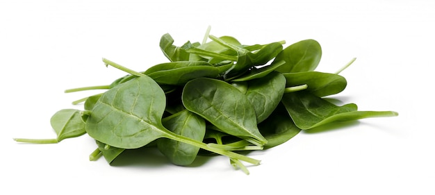 Spinach on the table Free Photo
