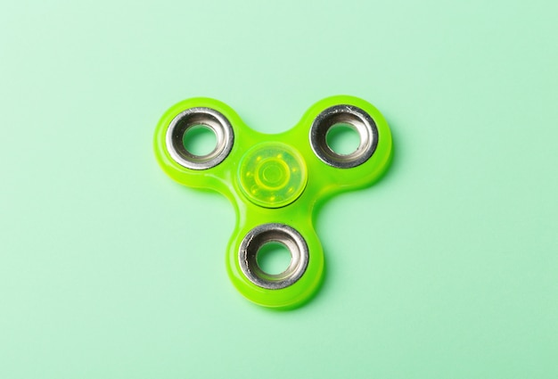 Spinner stress relieving toy isolated Premium Photo