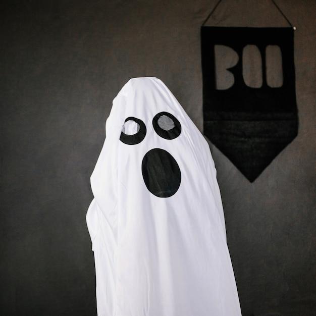 Spooky little ghost Free Photo