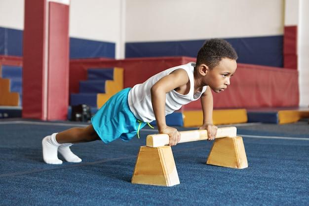 Budak kecil disiplin dalam bersukan