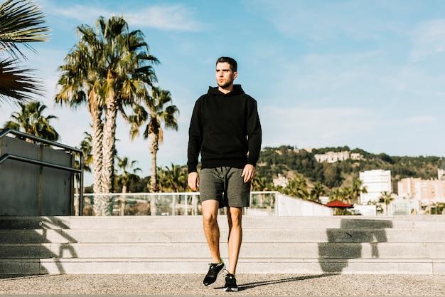 Спортсмен Premium Фотографии
