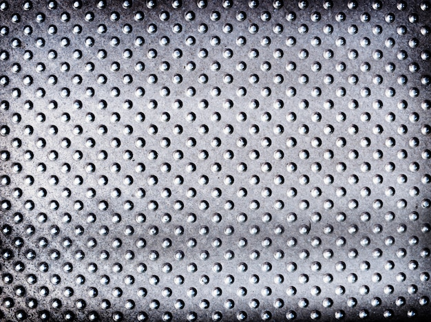 Spotted silver metalic textured background Free Photo