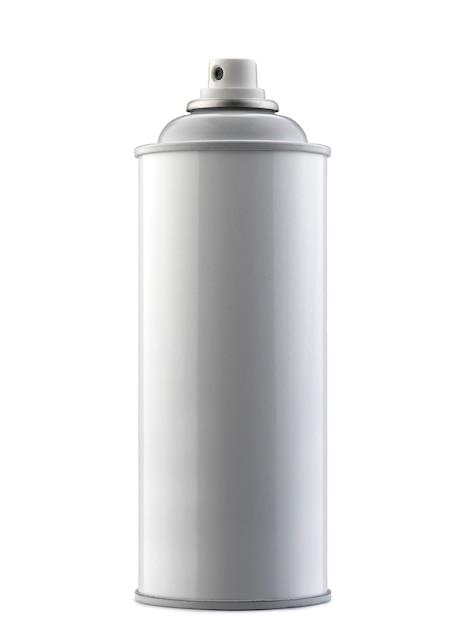 Spray bottle isolated on white Premium Photo