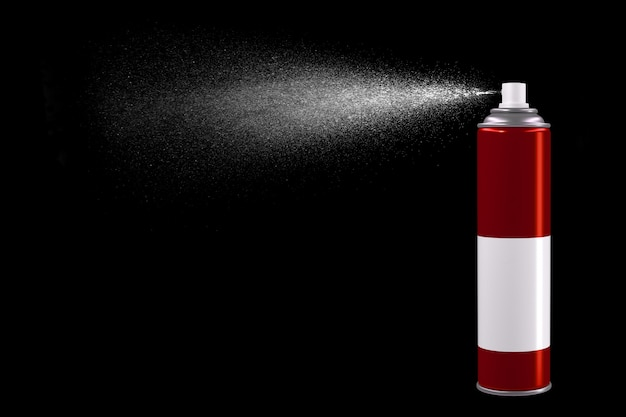 Spray can of insecticide Premium Photo
