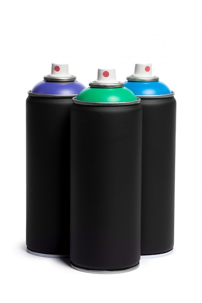 Spray paint can Premium Photo