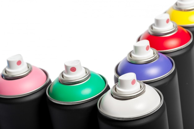 Spray paint can Premium Photo