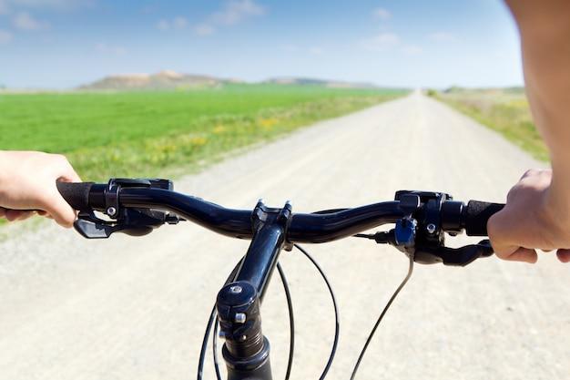 Spring biking Free Photo