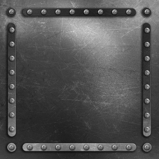 Square metal texture Free Photo