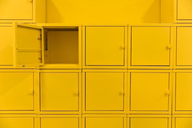 Squared lockers Free Photo