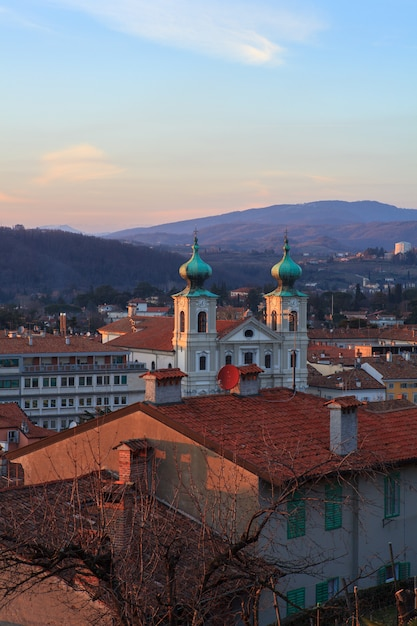 St. ignatius cathedral, gorizia Premium Photo