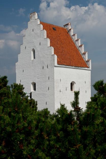 St laurenti church in skagen Premium Photo