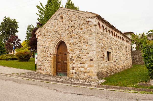 St. leonardo church, fagagna Premium Photo