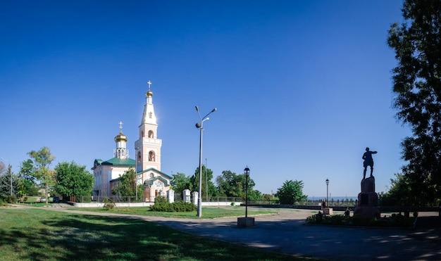 St. nicholas cathedral in ochakov city, ukraine Premium Photo