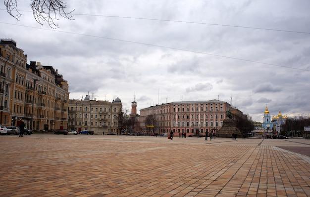 St. sophia square in kiev Premium Photo