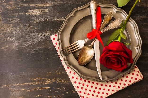 Концепция дня святого валентина Premium Фотографии