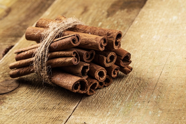 Stack of cinnamon Free Photo