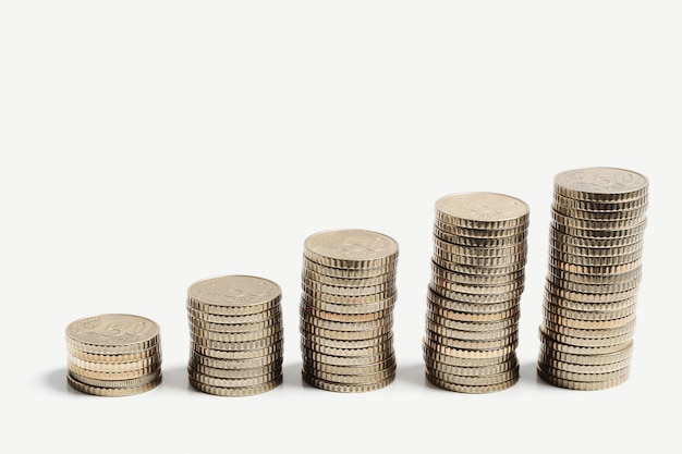 Stack of coins Free Photo
