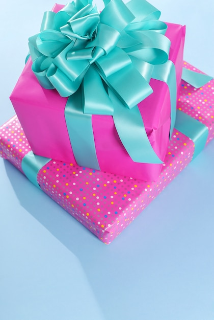 Стек подарков на день рождения Бесплатные Фотографии