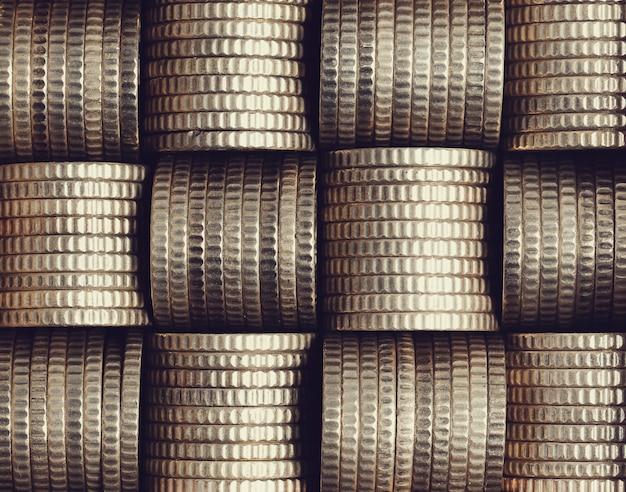 コインのスタック 無料写真