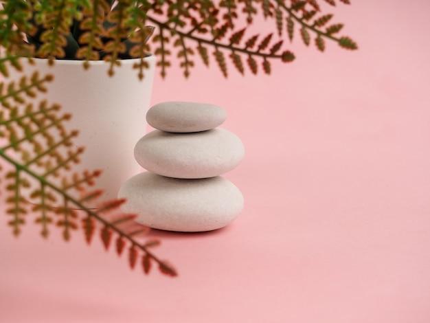 Стек дзен камней. расслабьтесь натюрморт со сложенными камнями. дзенская галька, камни, спа-спокойные сцены, замедляющие жизнь души, невозмутимый покой концепции. Premium Фотографии