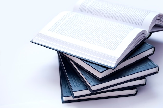 Stacked books Free Photo