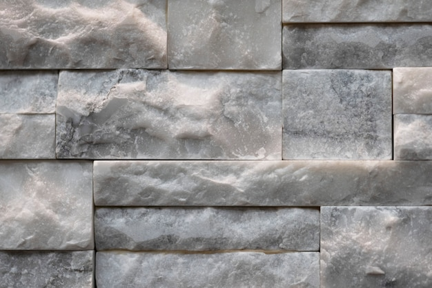 Stacked marble limestone wall structure Free Photo