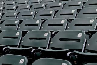 Stadium seating, event