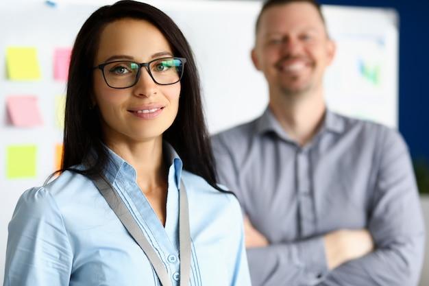 Staff working in office Premium Photo