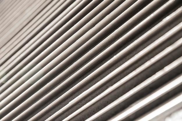 스테인리스 금속 가로줄 배경 무료 사진