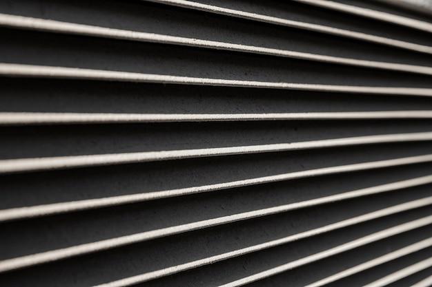 ステンレス金属の水平線の背景 無料写真