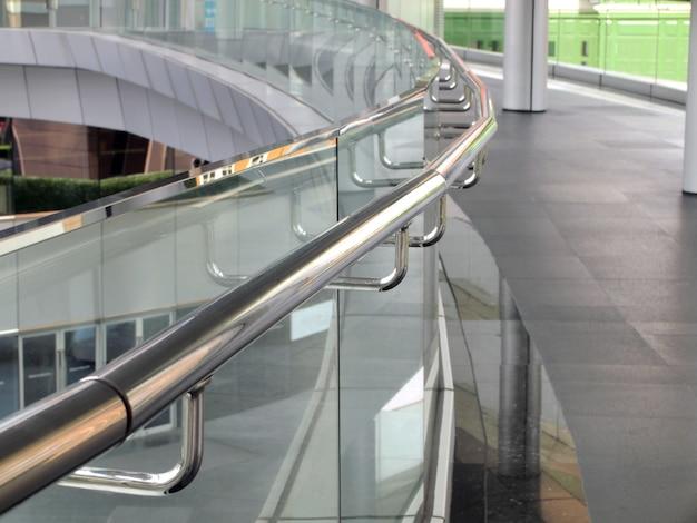 Stainless steel handrails Premium Photo