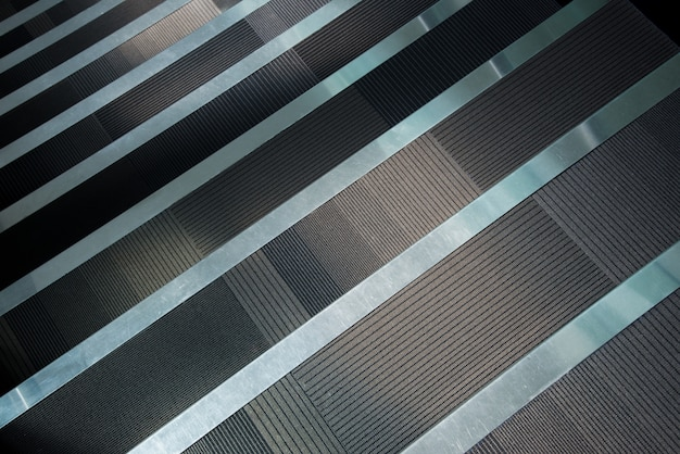 Staircase with runner carpet Premium Photo