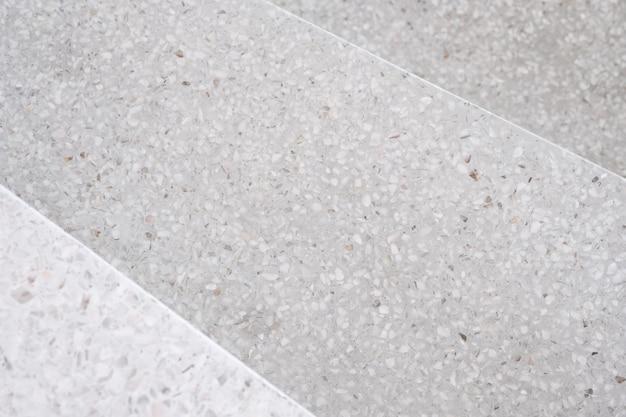 Stairs terrazzo polished stone walkway and floor Premium Photo