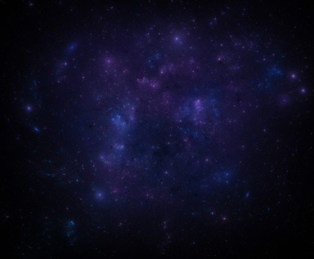 Star field background. starry outer space background texture. Premium Photo