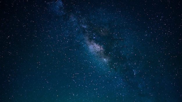 Star with milky way universe background Premium Photo