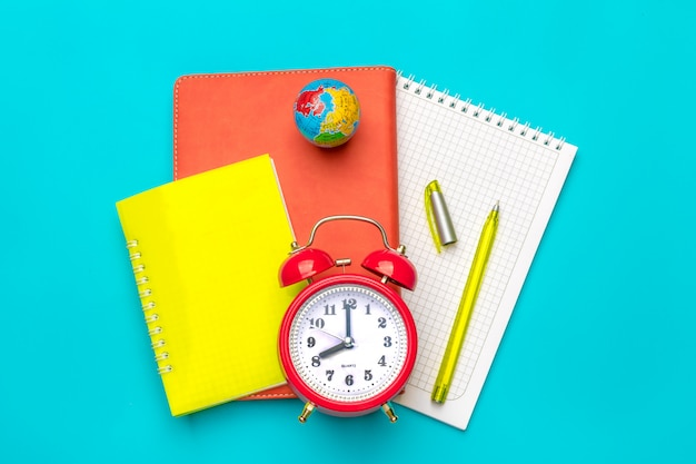 Stationary, back to school,college,summer time Premium Photo