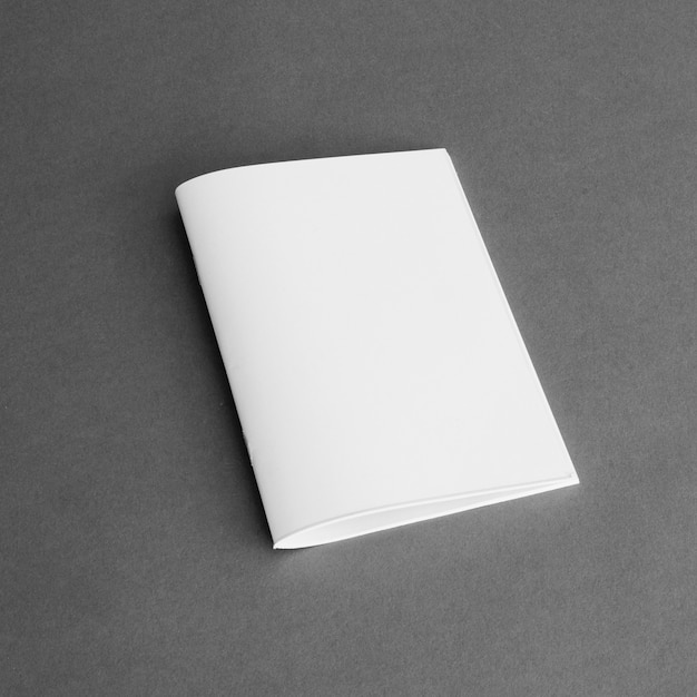 Stationery concept with sheet of paper Free Photo